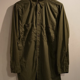 U.S.Navy - N-3 Cotton Poplin Utility Shirt