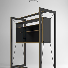 Pedro Sousa - FRAME - Suspended Furniture