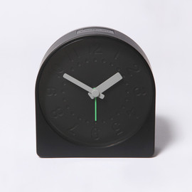 SAM HECHT - BELL CLOCK BLACK