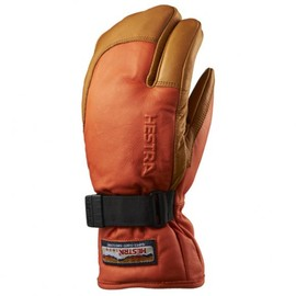 HESTRA - 3-FINGER FULL LEATHER