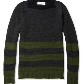 Marni - Striped Wool and Cashmere-Blend Sweater