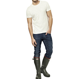 HUNTER - Balmoral Royal Leather-Lined Wellington Boots