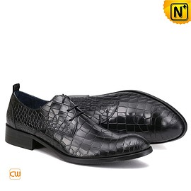 cwmalls - Houston Mens Italian Leather Lace-up Shoes