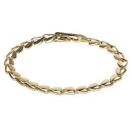 MARC JACOBS - MARC JACOBS マークジェイコブス Heart Chain Bracelet ブレスレッ GOLD