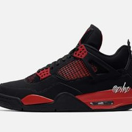 NIKE - Air Jordan 4 - Red Thunder