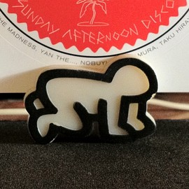 """Keith Haring - Card Stand """"BABY"""""""