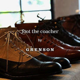 International Gallery BEAMS - foot the coacher by GRENSONカプセルコレクション