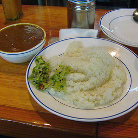 M's curry - チキンカレー