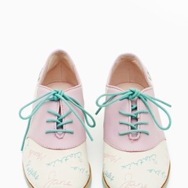 Bass x Rachel Antonoff - Who's That Girl Oxford