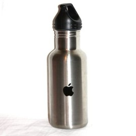 APPLE COMPUTER - APPLE COMPUTER LOGO STAINLESS STEEL WATER BOTTLE