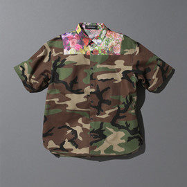 PHENOMENON - MIX CAMOFRAGE SHORT SLEEVE