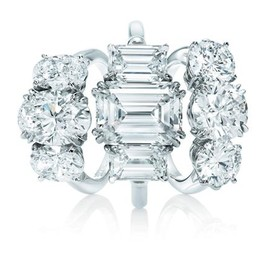 Harry Winston - Three Stone Rings