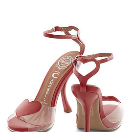 Modcloth - Declare the Love Heel by Jeffrey Campbell