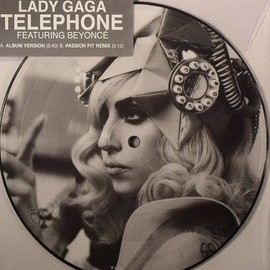"""Lady Gaga - Telephone 7"""" picture disc"""