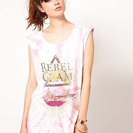 One Teaspoon - Rebel Glam Harry Tee