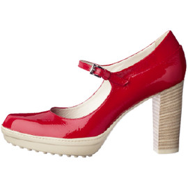 TOD'S - patent leather ankle strap pumps