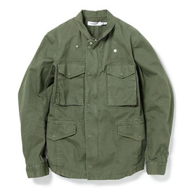 nonnative - TROOPER JACKET - COTTON ARMY CLOTH WINDSTOPPER® 2L OVERDYED