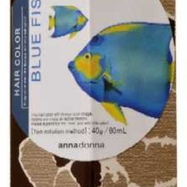 annadonna - HAIR COLOR BLUE FISH