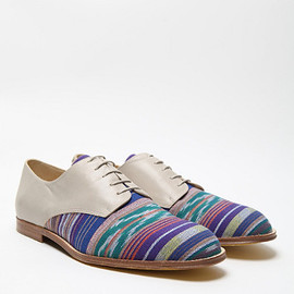 T & F Slack, oki-ni - Ikat Denver Derby Shoes
