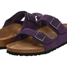 BIRKENSTOCK - ARIZONA blackberry suede