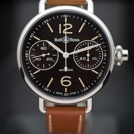 Bell & Ross - Bell & Ross - World War 1 Chronographe Monopoussoir Heritage