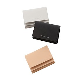 beautiful people - reflect leather compact wallet
