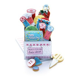Biscuiteers - personalised sewing kit biscuit tin