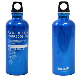 W.A.S.T.E - Radiohead water bottle