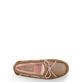 UGG - Shiny Dakota Cancer Awareness CHESTNUT