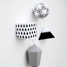 minieco - paper decorations by minieco // winter edition