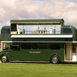 The Rosebery by Simon Davis - The Rosevery Cocktails bus