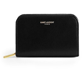 Yves Saint Laurent - Saint Laurent Marquage Zip-Around Leather Coin Purse