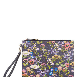 Accessorize - Winter Floral Zip Top Clutch Bag