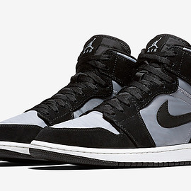 Jordan Brand, NIKE - Air Jordan 1 High Premium - Black/Grey