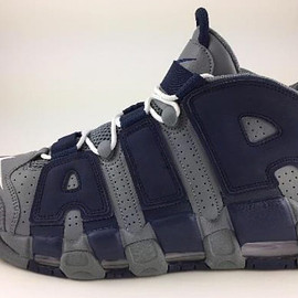 NIKE - Air More Uptempo - Cool Grey/White/Midnight Navy