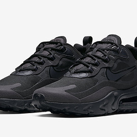 NIKE - Air Max 270 React - Black/Oil Grey/Black/Oil Grey