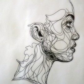 Kris Trappeniers - Ink drawing