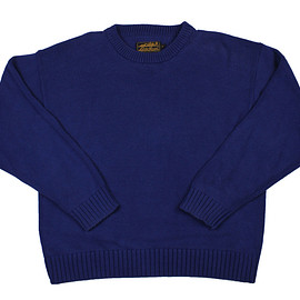 Eddie Bauer - Vintage 90s Eddie Bauer Cotton Sweater in Blue Mens Size Medium