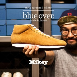 blueover - blueover 2013 autumn & winter New production[mikey velour mid]  Coming soon…