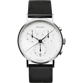 georg jensen - KOPPEL chronograph watch with date and second hand