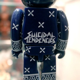 Suicidal Tendencies Bearbrick 100% - Suicidal Tendencies Bearbrick 100%