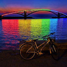 Taiwan - Xiying Rainbow Bridge