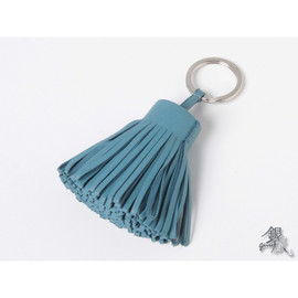 HERMES - Carmen Key Ring Blue Jean