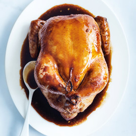 donna hay - ginger and soy roast chicken