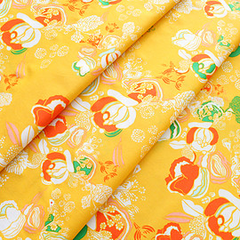 Art Gallery Fabrics - Meadow Florscape Marigold