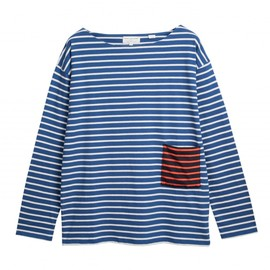 Chinti and Parker - Slouchy Breton Tee