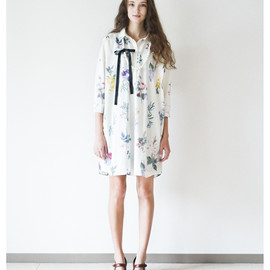 SINDEE - botanical SH DRESS