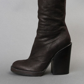 HAIDER ACKERMANN - BOOT WITH BACK ZIP FASTENING