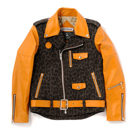 bal, CYDER HOUSE - LEOPARD TWEED RIDERS JACKET