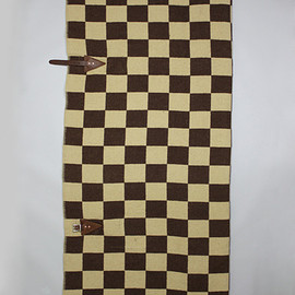 MOUNTAIN RESEARCH - Horse Blanket 1/2 (Checker)   BEIGE*BROWN (Horse Blanket Research 018)